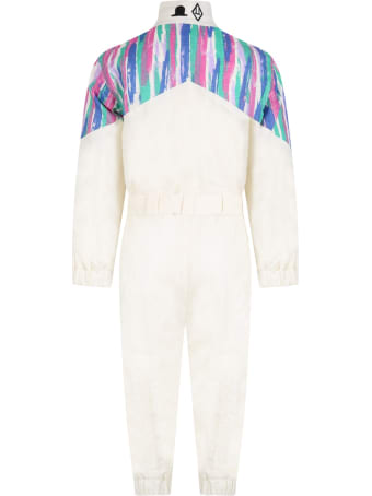 The Animals Observatory Ivory Overall For Kids