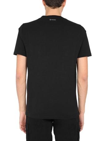 Ma.Strum T-shirt With Logo Patch