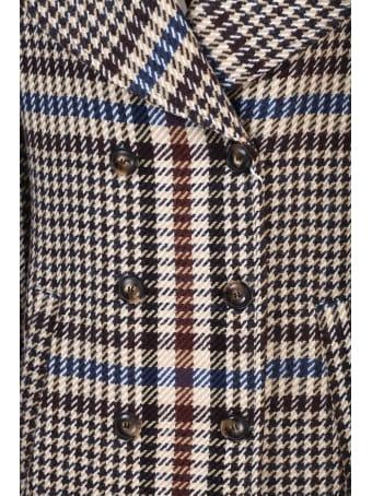 Bottega Martinese double-breasted coat