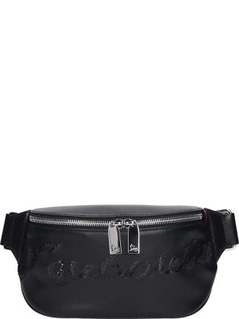 Christian Louboutin Maria Jane Waist Bag In Black Leather