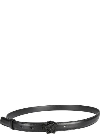 Versace Medusa Head Buckled Belt