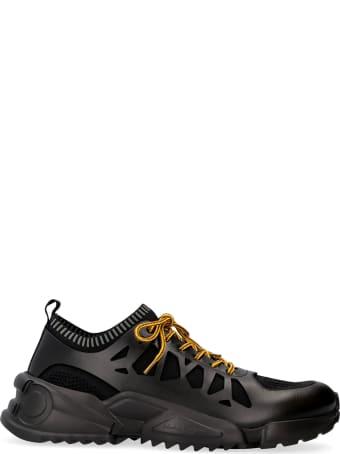 Salvatore Ferragamo Raintop Techno-fabric And Leather Sneakers