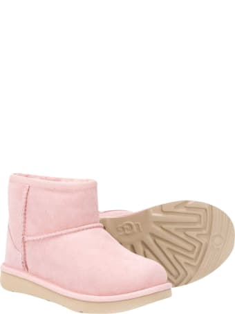 UGG Pink Ankle Boots