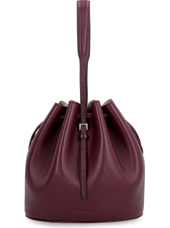 Jil Sander Mini Leather Bucket-bag
