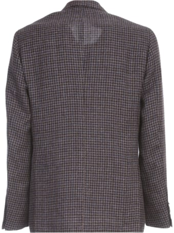 Barba Napoli Wool Silk Linen Jacket