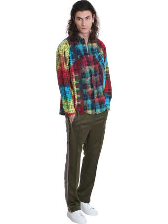 Needles Shirt In Multicolor Cotton