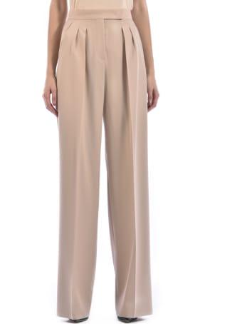 Max Mara Wool Gabardine Trousers