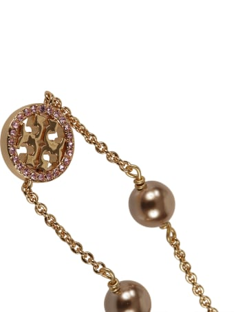 Tory Burch Pearl Embellished Necklace