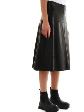 ARMA Leather Skirt Midi