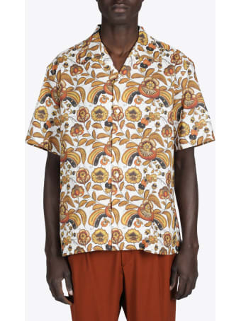 CMMN SWDN Ss Camp Collar Shirt
