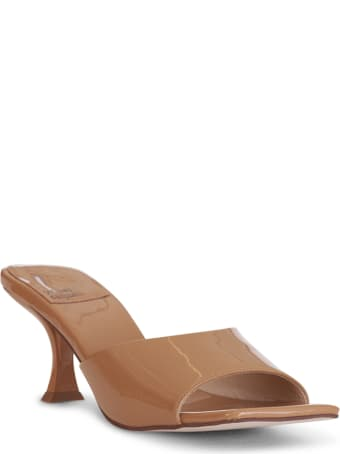 Jeffrey Campbell Square-toe Heeled Sandal