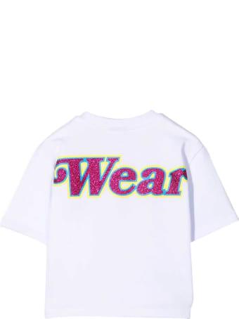 GCDS Mini Teen T-shirt With Press