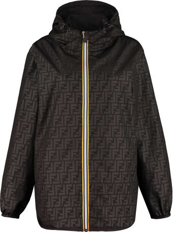 Fendi Reversible Windbreaker Jacket - Fendi X K-way