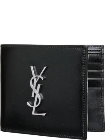 Saint Laurent East/west Monogram Wallet
