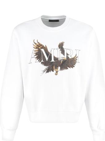 AMIRI Cotton Crew-neck Sweatshirt