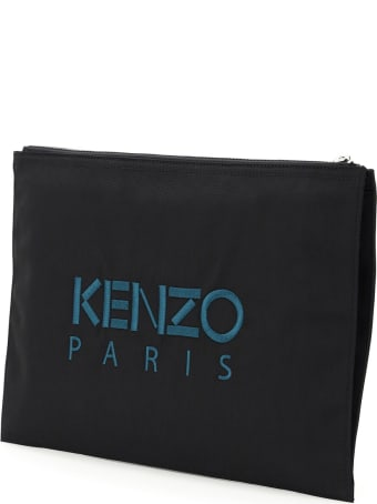 Kenzo Document Holder Clutch Tiger