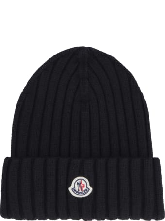 Moncler Ribbed Wool Beanie