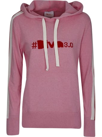 Diva Embroidered Hoodie