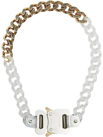 1017 ALYX 9SM Transparent Chain And Metal Necklace