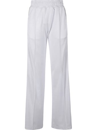 Fendi Ribbed Waist Long Trousers
