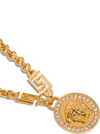Versace Medusa Metal Necklace