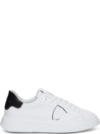 Philippe Model Temple Veau Leather Sneakers