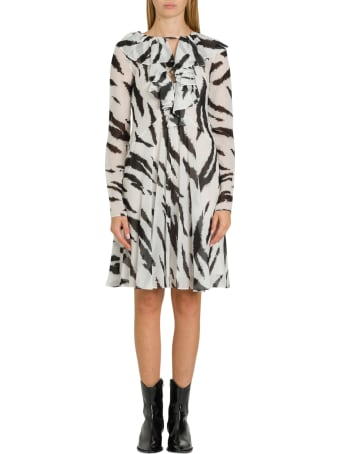 Philosophy di Lorenzo Serafini Zebra Dress