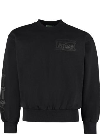 Aries Cotton Crew-neck Sweatshirt
