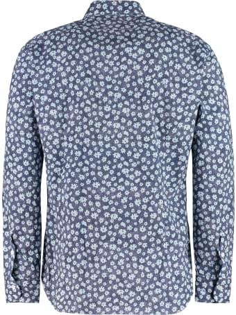 Barba Napoli Printed Cotton Shirt
