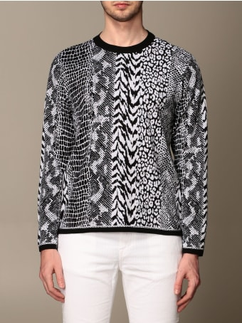 Roberto Cavalli Sweater Roberto Cavalli Animalier Crewneck Sweater