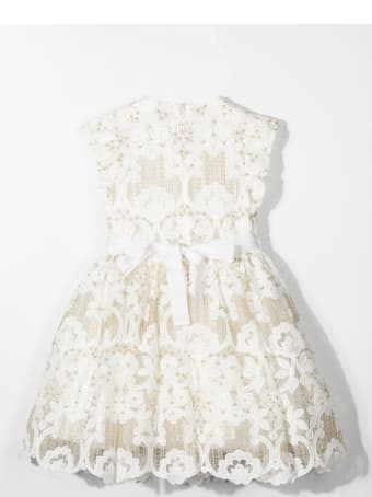 Elie Saab Lace Dress With Bow
