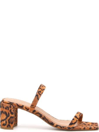 BY FAR Tanya Animal Print Mules