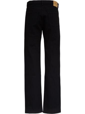 Kenzo Regular Black Denim Jeans