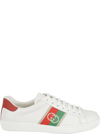 Gucci Side Logo Detail Sneakers