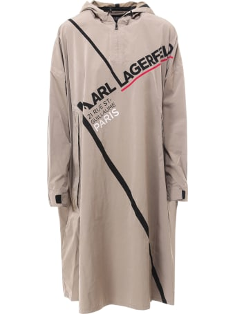 Karl Lagerfeld Rain Coat