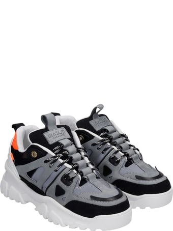 Mason Garments Genova 2 Sneakers In White Leather