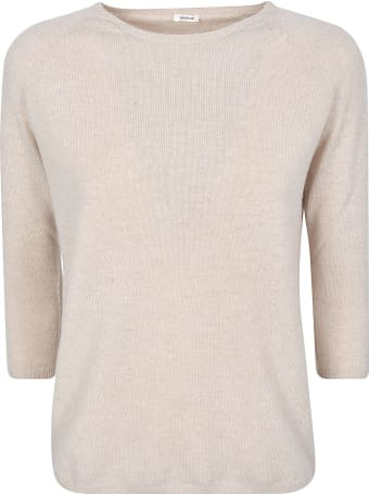 A Punto B Regular Fit Plain Sweater