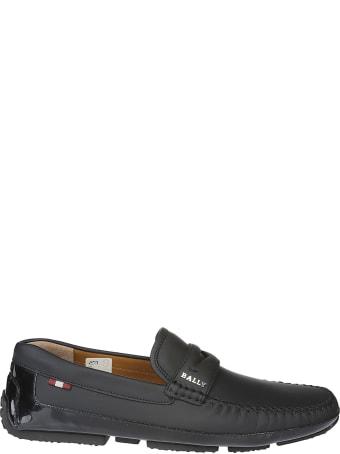 Bally Logo Loafers