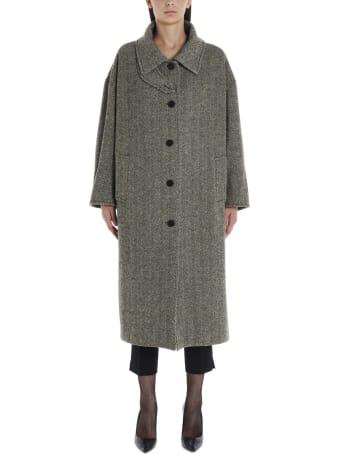 Alberto Biani 'chinstapoler' Coat