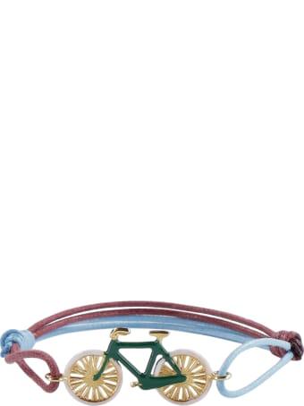 Aliita Bici Charm Cord Bracelet