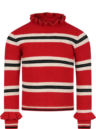 Catimini Multicolor Sweater For Girl