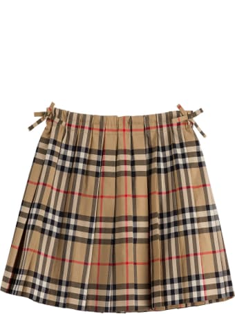 Burberry Pearly Mini Check Skirt