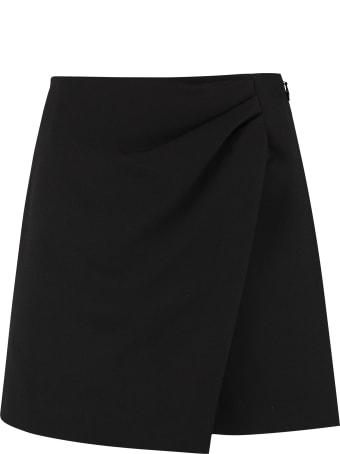 RED Valentino Asymmetric Wrap Skirt