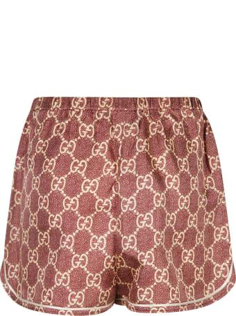 Gucci Logo Printed Shorts