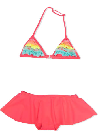 Billieblush Swimsuit With Ruches