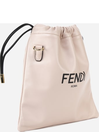 Fendi Small Pouch Pack In Leather