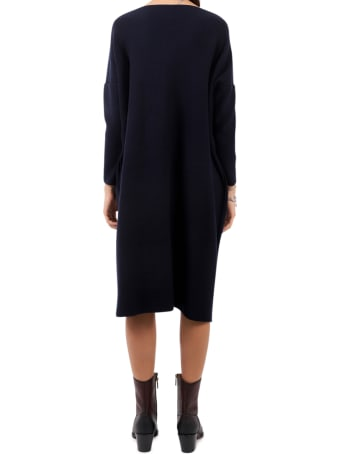 Daniela Gregis Navy Knitted Dress