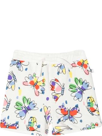 Stella McCartney White Shorts