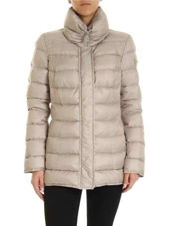 Peuterey Flagstaff Down Jacket In Nylon Beige Color