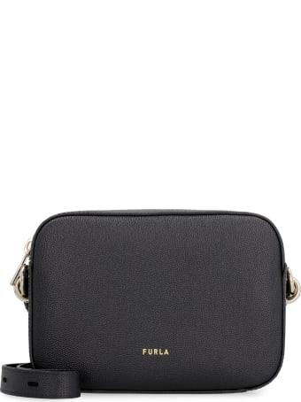 Furla Furla Block Leather Crossbody Bag